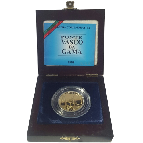 Proof 500$00 Vasco da Gama Bridge 1998 (bimetalic)