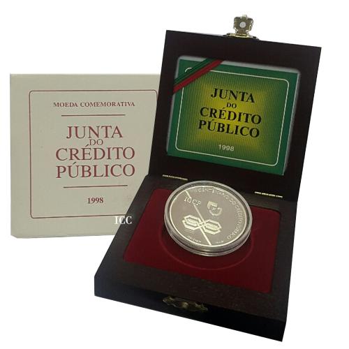 Proof 1.000$00 Crédito Público 1998