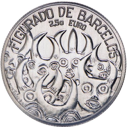 Portugal  - 2.50€  2016 BARCELOS CERAMIC  (Silver proof)