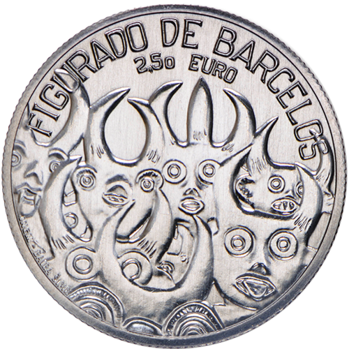 Portugal  - 2.50€  2016 FIGURADO DE BARCELOS (Proof)