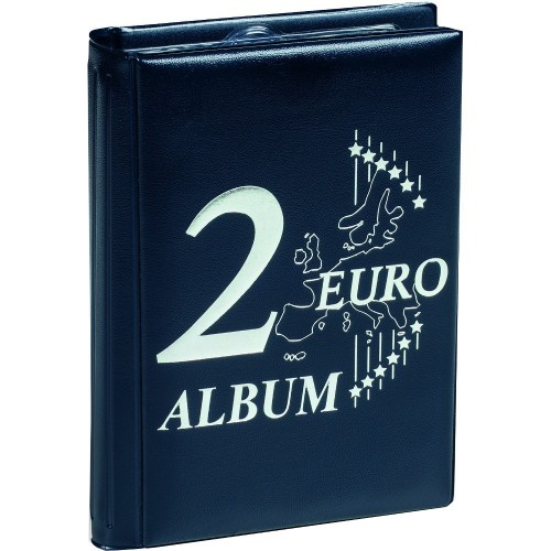 ROUTE 2-EURO POCKET ALBUM FOR 48 2-EURO COINS