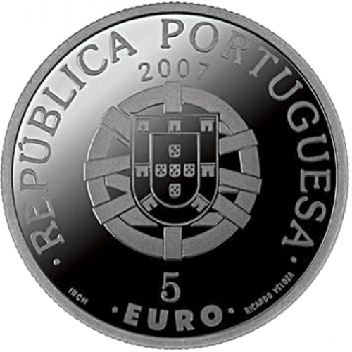 Portugal 5.00€ 2007 Floresta Laurisilva