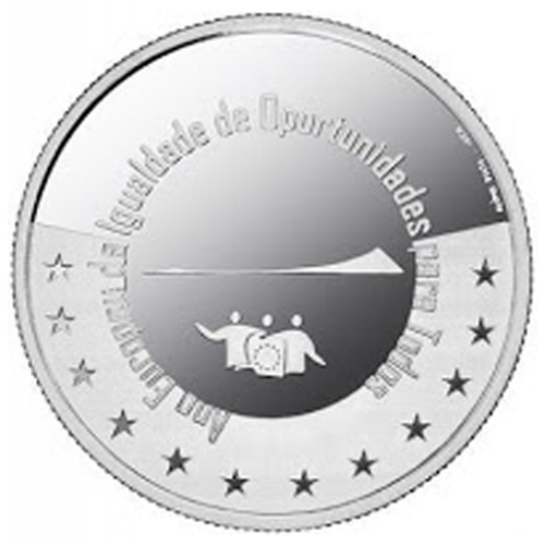 Portugal 5.00€  Ano Europeu da Igualdade 2007