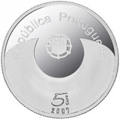 Portugal 5.00€ 2007 Ano Europeu da Igualdade