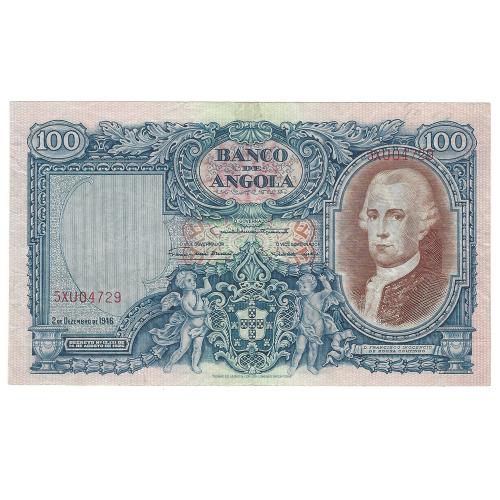 Angola 100 Angolares 1946