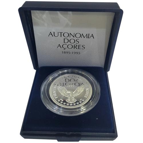 Proof 100$00 Centenário da Autonomia dos Açores 1995