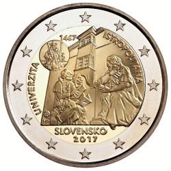 Eslováquia - 2€ 2017 (Universidade Istropolitana)