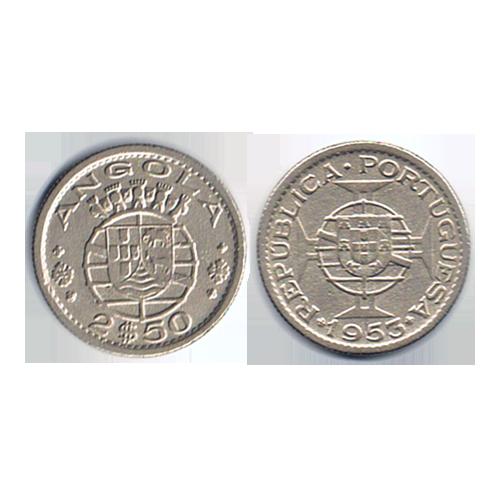 Angola 2$50 1953