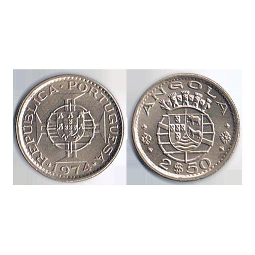 Angola 2$50 1974