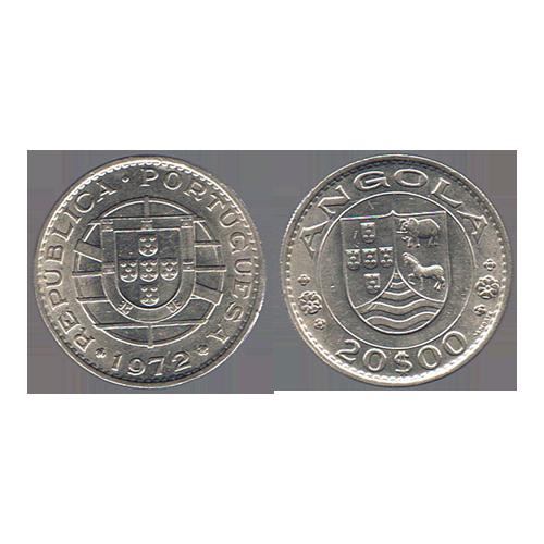 Angola 20 Escudos 1972