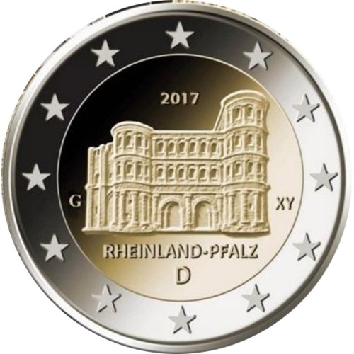"""Alemanha 2€ 2017 """"A Porta Nigra"""""""