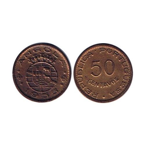 Angola 50 Centavos 1955