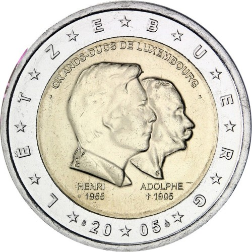 Luxembourg 2 euro  2005 (Gran Duke)