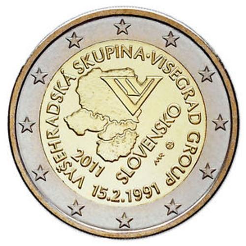 Eslováquia 2€ 2011 (Visegrad)
