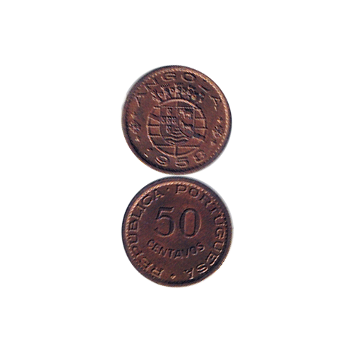 Angola 50 Centavos 1958