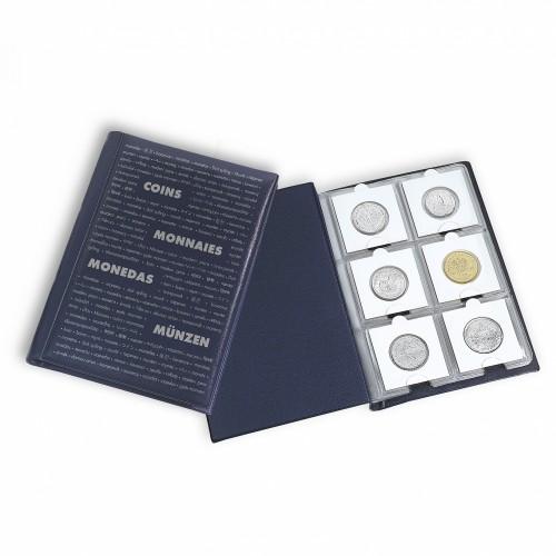 Álbum de bolso para Moedas Pocket  K BL