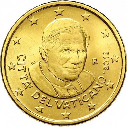 "Vaticano - 50 Cêntimos 2013 ""Bento XVI"""