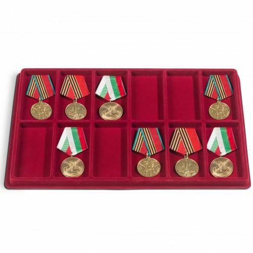 Tabuleiro com 12 Divisórias (ideal para Medalhas)