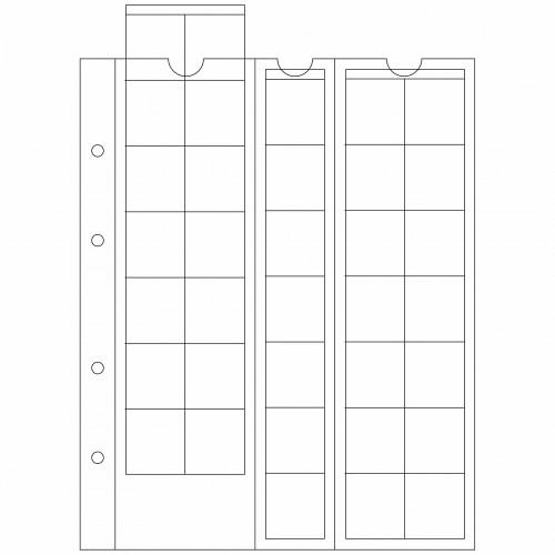 Coin sheets Optima M35