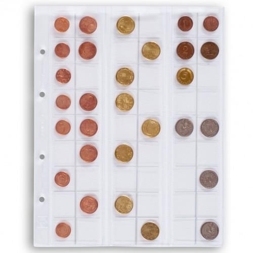 Coin sheets Optima M40