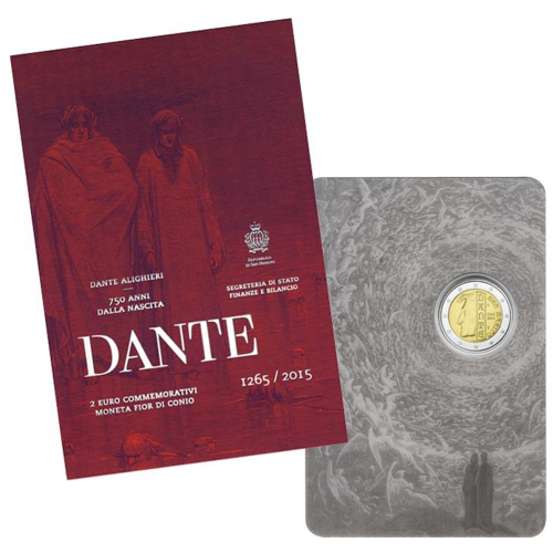 San Marino - 2€ 2015 (Dante)