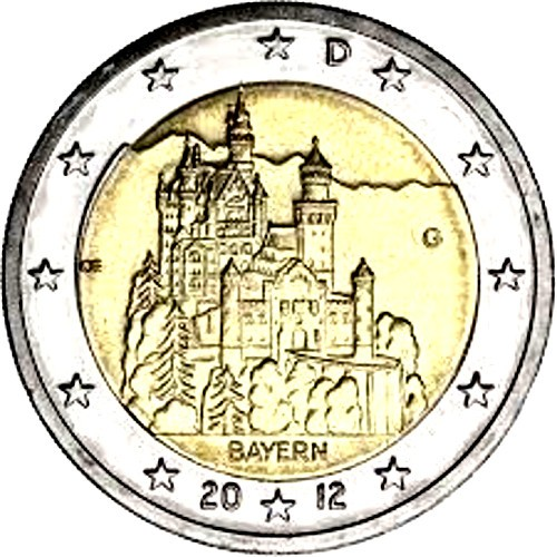Germany 2€ 2012 Bremen