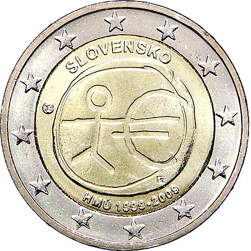 Slovakia  2€ 2009 (U.E.M.)