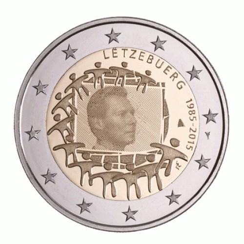Luxemburgo 2€ 2015 (30 Anos Bandeira da Europa)