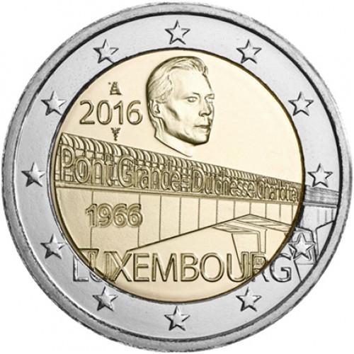 Luxembourg 2 Euro 2016 (Grand Duchess Charlotte Bridge)