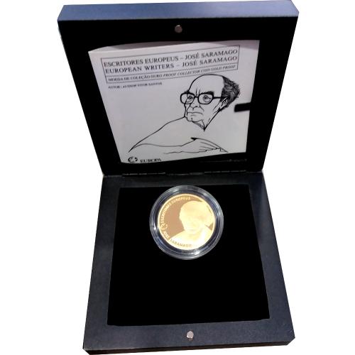 Portugal 2,50€ 2013 (José Saramago)  Ouro