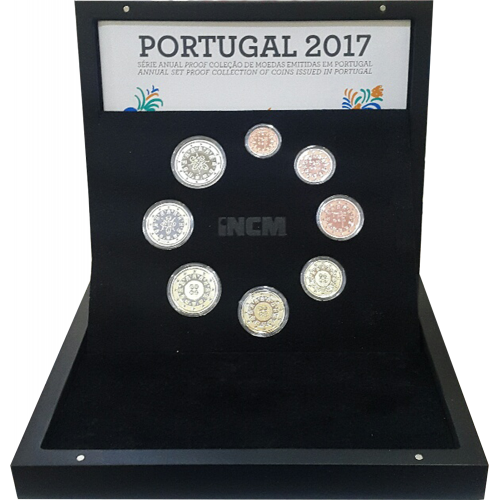 Portugal SÉRIE ANUAL 2017 - Proof