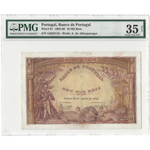 10.000 Reis (30/08/1904)