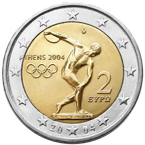 Grécia 2,00€ 2004 Atenas