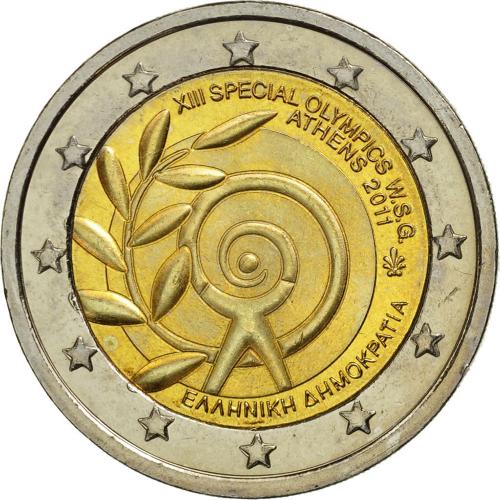 Grécia 2,00€ 2011 J.O. Especiais