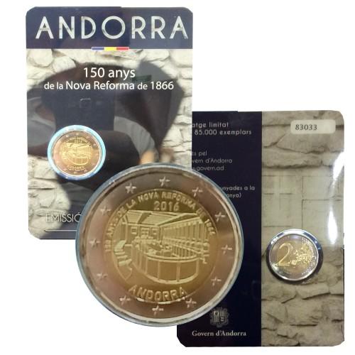 Andorra 2€ 2015 (30th Anniv.of Civil Majority)