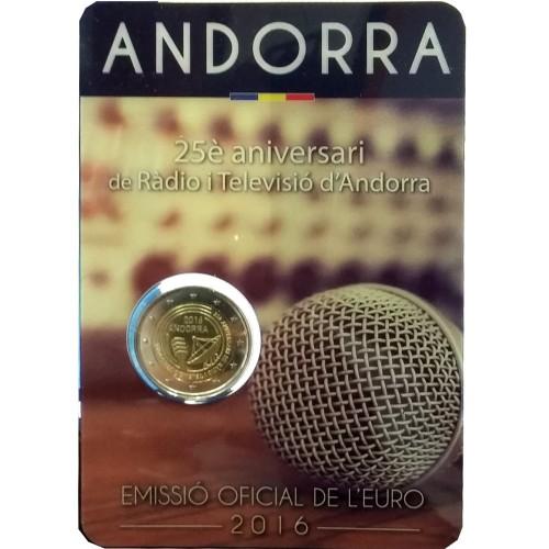 Andorra 2€ 2016 (150º Aniv. da Nova Reforma)