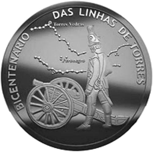 Portugal 2,50€ Linhas de Torres 2010