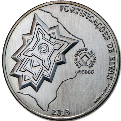 Portugal 2,50€ Elvas Fortifications 2013