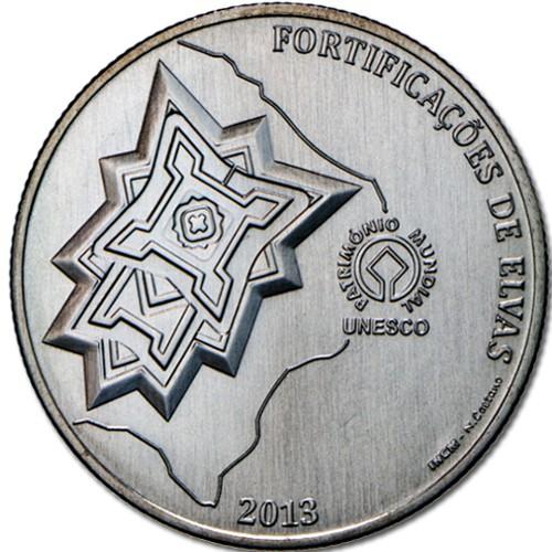 Portugal 2,50€ Fortificações de Elvas 2013