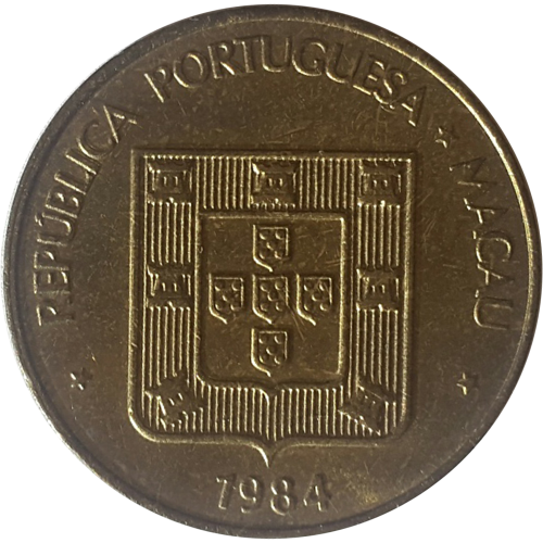 Macao 50 Avos 1984