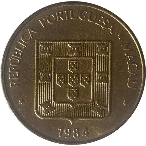 Macau 50 Avos 1984