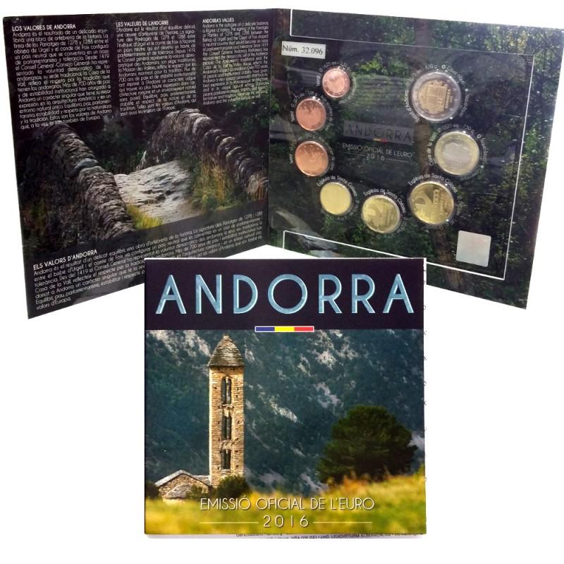 Andorra 2014 - 8 Moedas
