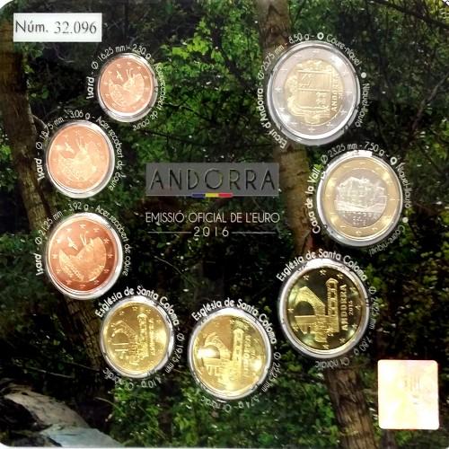 Andorra - 8 Coins (2014 BU Set )