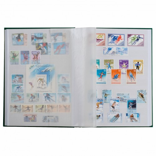 Stamps A4 32 pages stock Book