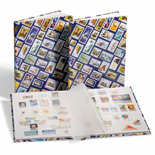 Stamps A4 16 pages stock Book