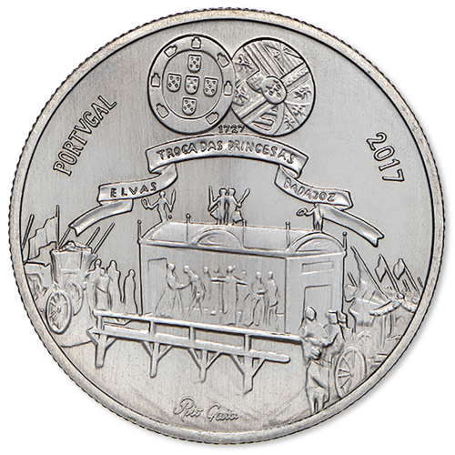 Portugal  - 5€  2017 Maria Bárbara