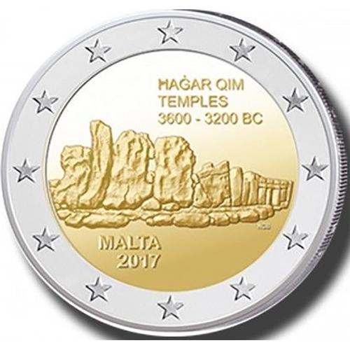 Malta 2€ 2017 (Templo de Hagar Qim )