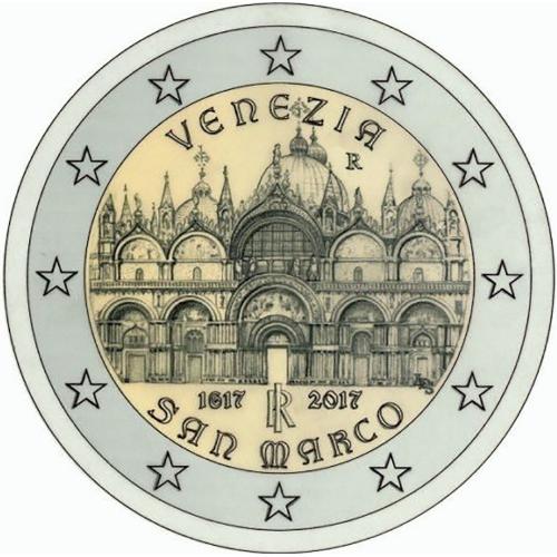 Itália 2€ 2017 Basílica  de San Marcos