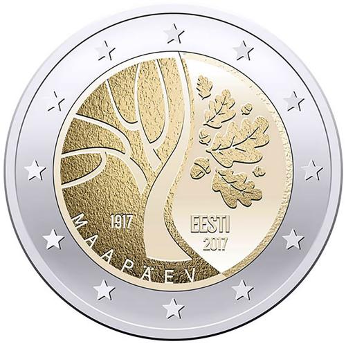 Estónia 2€ 2017 Independence