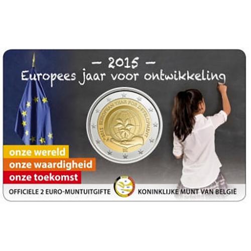 Bélgica 2€ 2015 Desenvolvimento